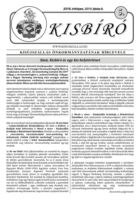 Kisbíró 2019/5. száma